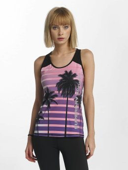 Superdry Tank Tops Sport Fitted Mesh musta