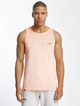 Superdry Tank Tops Low Roller orange