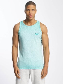 Superdry Tank Tops Low Roller turkoosi