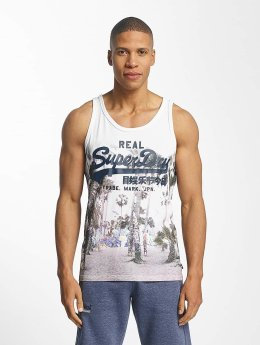 Superdry Tank Tops Vintage Logo Photo Entry valkoinen