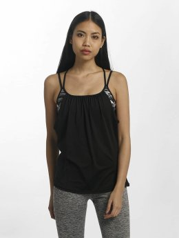 Superdry Tanktop Sport Studio Layer zwart