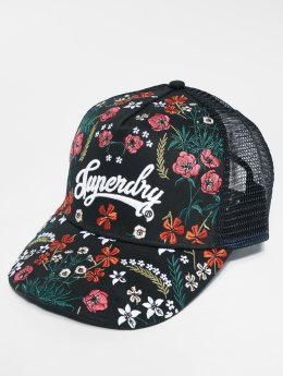 Superdry Trucker Cap Embroidery schwarz