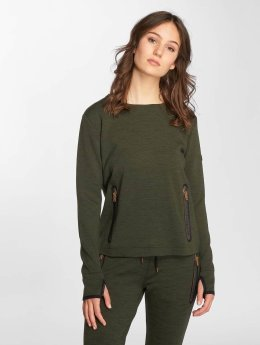 Superdry trui Gym Tech Luxe khaki