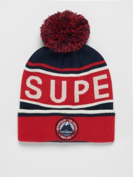 Superdry Winter Bonnet Oslo Racer red