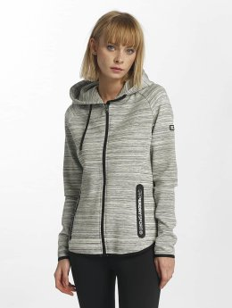 Superdry Zip Hoodie Sport Gym Technical Luxe grau