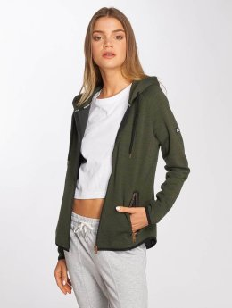 Superdry Zip Hoodie Gym Tech khaki