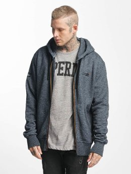 Superdry Zip Hoodie Orange Label Urban schwarz