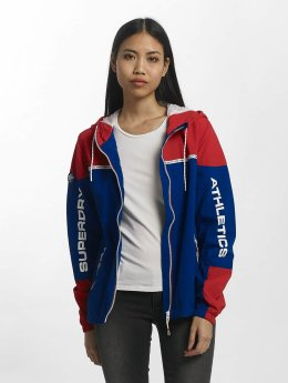 Superdry Zomerjas Colour Block Cagoule rood