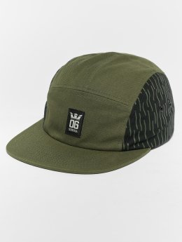 Supra 5 Panel Caps Og Crown 5 Panel Hat olijfgroen