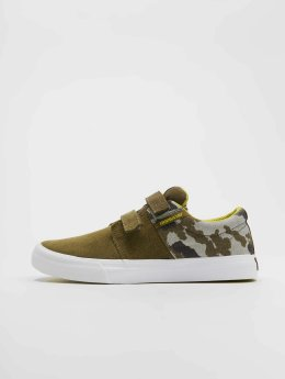 Supra Baskets Stacks Vulc Ii V olive