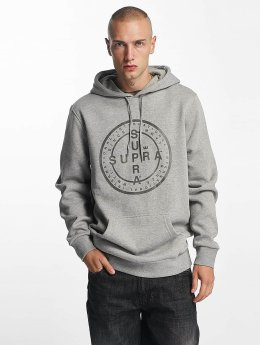 Supra Hoody Cross Seal grau