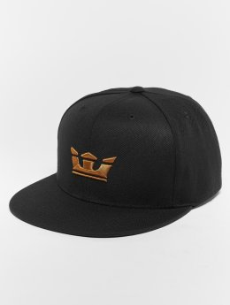 Supra Snapback Cap Icon Snap Back Hat black
