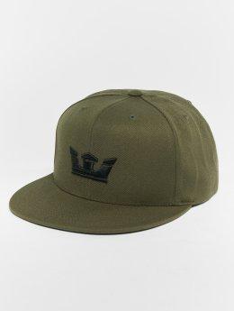 Supra snapback cap  Icon Snap Back Hat olijfgroen