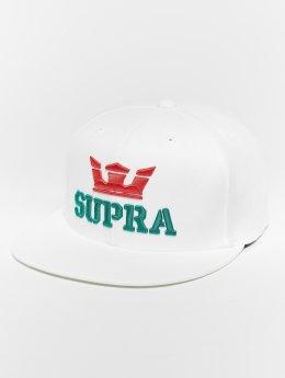 Supra Snapback Cap Above Snap Back Hat white