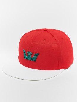 Supra Snapback Caps Icon Snap Back Hat punainen