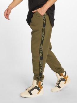 Supra Spodnie do joggingu Streeter oliwkowy
