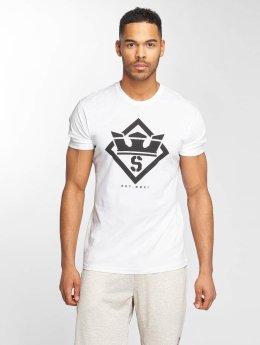 Supra T-paidat Stencil valkoinen
