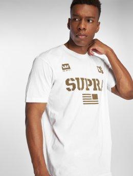Supra T-Shirt Team Usa blanc