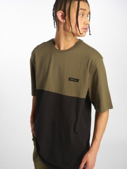 Supra t-shirt Block Ss olijfgroen