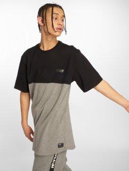 Supra T-Shirt Block Ss Crew schwarz