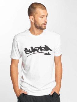 Supra T-Shirt Marker Felt weiß
