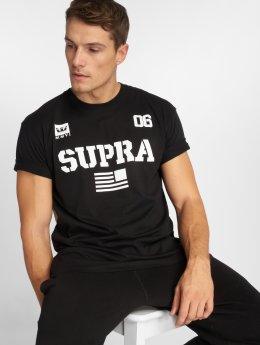 Supra t-shirt Team Usa zwart
