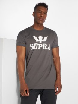 Supra T-Shirty Above Regular szary