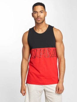 Supra Block Tank Top Black/Red