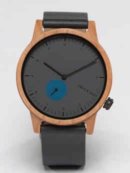 TAKE A SHOT Reloj Smee Kirschholz gris