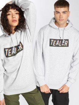 Tealer Hoodies Box Logo RVB grå