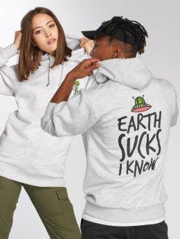 Tealer Hoody Earth Sucks grau