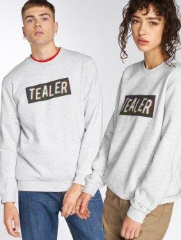 Tealer Pullover Box Logo RVB grau