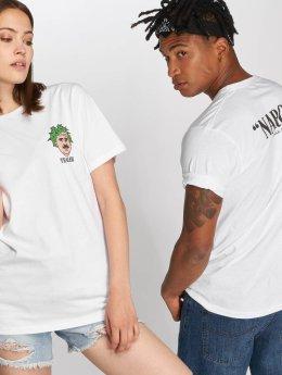 Tealer T-Shirt Pablo Escobud weiß