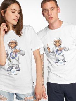 Tealer t-shirt ET Telephone Leurdea wit