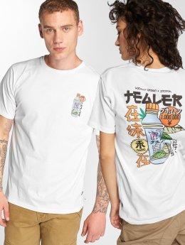 Tealer T-skjorter Fiji hvit