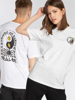 Tealer T-skjorter Heaven hvit