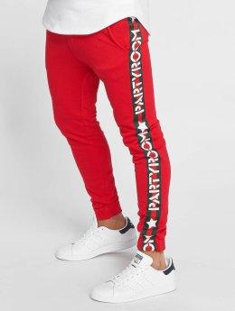 Terance Kole Spodnie do joggingu Partyroom czerwony