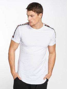 Terance Kole T-Shirt Stripe weiß