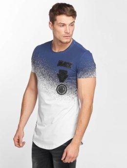 Terance Kole t-shirt two-tone wit