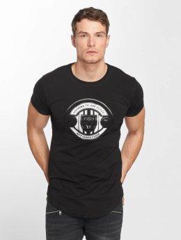 Terance Kole t-shirt Riga zwart