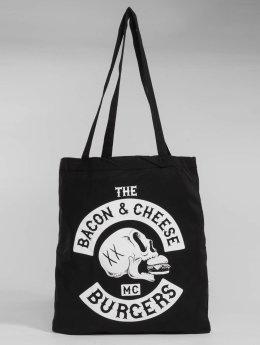 The Dudes Bolsa Bacon Cheese Burgers negro