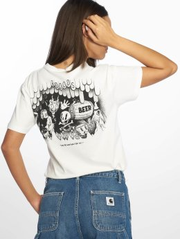 The Dudes Camiseta Helles blanco