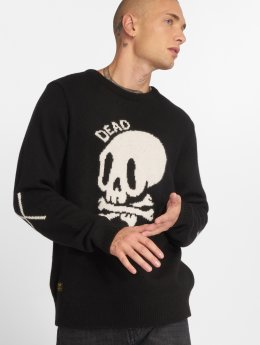 The Dudes Pullover Dead Knitted schwarz