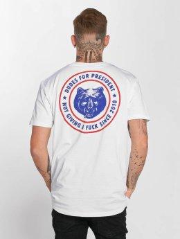 The Dudes T-paidat President valkoinen