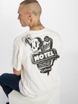The Dudes T-paidat Motel valkoinen