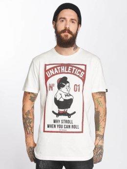 The Dudes T-shirt Fat Boy bianco