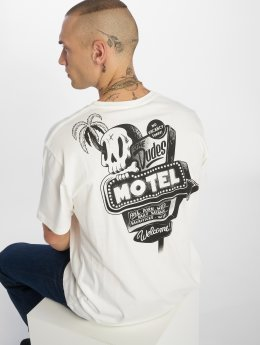 The Dudes T-shirt Motel bianco
