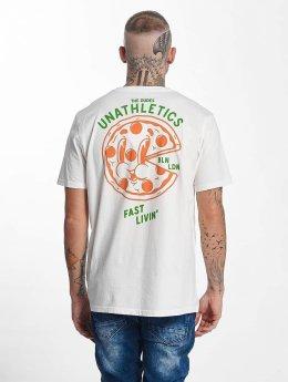 The Dudes T-Shirt Pizza 24/7 blanc