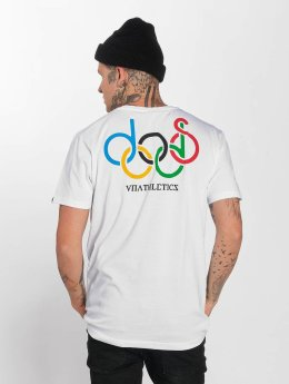 The Dudes T-Shirt Olympic Doods blanc
