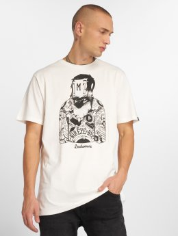The Dudes T-Shirt Russian blanc